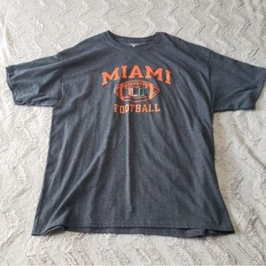 University of Miami Champion Football Shirt